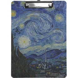 The Starry Night (Van Gogh 1889) Clipboard