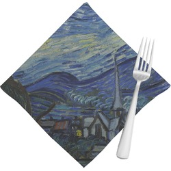 The Starry Night (Van Gogh 1889) Napkins (Set of 4)