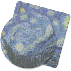 The Starry Night (Van Gogh 1889) Rubber Backed Coaster