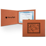 The Starry Night (Van Gogh 1889) Leatherette Certificate Holder