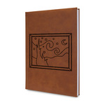 The Starry Night (Van Gogh 1889) Leatherette Journal