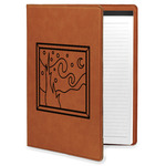 The Starry Night (Van Gogh 1889) Leatherette Portfolio with Notepad