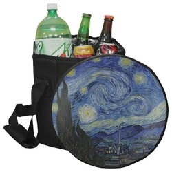 The Starry Night (Van Gogh 1889) Collapsible Cooler & Seat