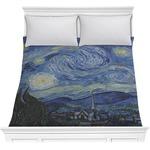 The Starry Night (Van Gogh 1889) Comforter