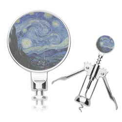 The Starry Night (Van Gogh 1889) Corkscrew