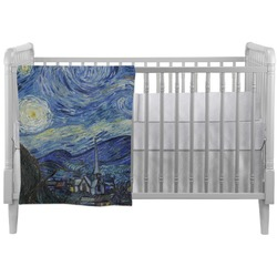 The Starry Night (Van Gogh 1889) Crib Comforter / Quilt