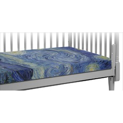 The Starry Night (Van Gogh 1889) Crib Fitted Sheet