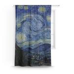 The Starry Night (Van Gogh 1889) Curtain