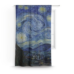 The Starry Night (Van Gogh 1889) Curtain