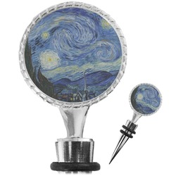 The Starry Night (Van Gogh 1889) Wine Bottle Stopper
