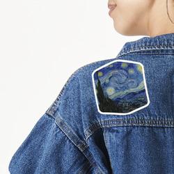 The Starry Night (Van Gogh 1889) Large Custom Shape Patch