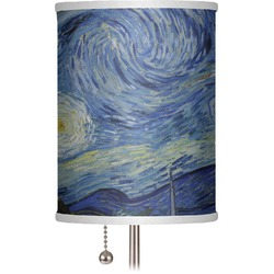 """The Starry Night (Van Gogh 1889) 7"""" Drum Lamp Shade"""