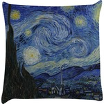 The Starry Night (Van Gogh 1889) Decorative Pillow Case