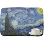 The Starry Night (Van Gogh 1889) Dish Drying Mat