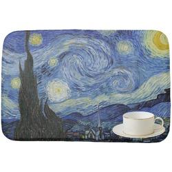 The Starry Night (Van Gogh 1889) Dish Drying Mat