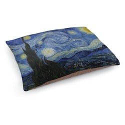 The Starry Night (Van Gogh 1889) Dog Pillow Bed
