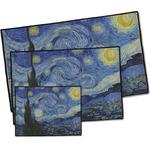 The Starry Night (Van Gogh 1889) Door Mat