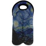 The Starry Night (Van Gogh 1889) Wine Tote Bag (2 Bottles)