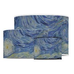 The Starry Night (Van Gogh 1889) Drum Lamp Shade