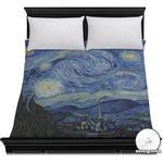 The Starry Night (Van Gogh 1889) Duvet Cover