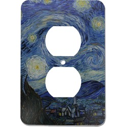 The Starry Night (Van Gogh 1889) Electric Outlet Plate