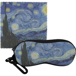 The Starry Night (Van Gogh 1889) Eyeglass Case & Cloth