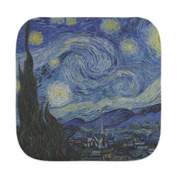 The Starry Night (Van Gogh 1889) Face Towel