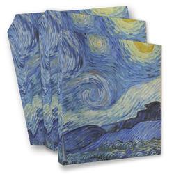 The Starry Night (Van Gogh 1889) 3 Ring Binder - Full Wrap