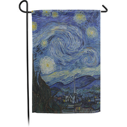 The Starry Night (Van Gogh 1889) Garden Flag - Single or Double Sided
