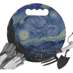 The Starry Night (Van Gogh 1889) Gardening Knee Cushion