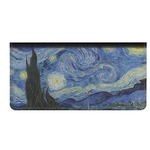 The Starry Night (Van Gogh 1889) Genuine Leather Checkbook Cover