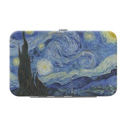 The Starry Night (Van Gogh 1889) Genuine Leather Small Framed Wallet