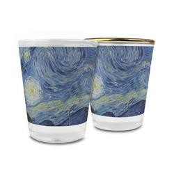 The Starry Night (Van Gogh 1889) Glass Shot Glass - 1.5 oz