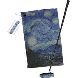 The Starry Night (Van Gogh 1889) Golf Towel Gift Set