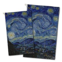 The Starry Night (Van Gogh 1889) Golf Towel - Full Print