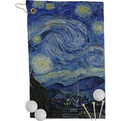 The Starry Night (Van Gogh 1889) Golf Towel - Full Print