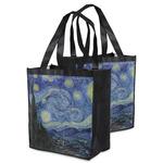 The Starry Night (Van Gogh 1889) Grocery Bag