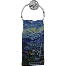 The Starry Night (Van Gogh 1889) Hand Towel - Full Print