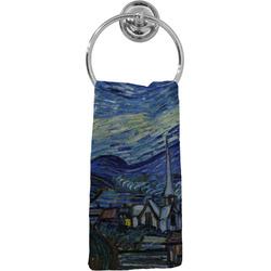 The Starry Night (Van Gogh 1889) Hand Towel - Full Print