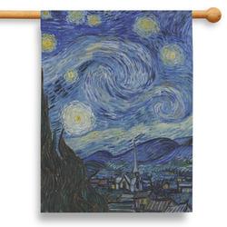 "The Starry Night (Van Gogh 1889) 28"" House Flag"