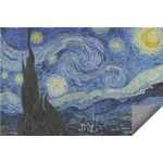 The Starry Night (Van Gogh 1889) Indoor / Outdoor Rug