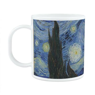 The Starry Night (Van Gogh 1889) Plastic Kids Mug