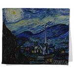 The Starry Night (Van Gogh 1889) Kitchen Towel - Full Print
