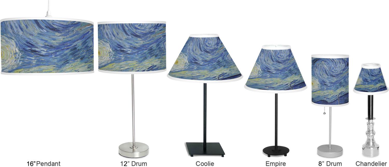 The Starry Night Van Gogh 1889 Empire Lamp Shade