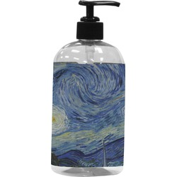 The Starry Night (Van Gogh 1889) Plastic Soap / Lotion Dispenser