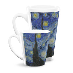 The Starry Night (Van Gogh 1889) Latte Mug