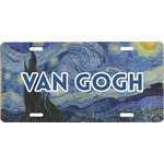 The Starry Night (Van Gogh 1889) Front License Plate