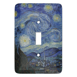 The Starry Night (Van Gogh 1889) Light Switch Covers - Multiple Toggle Options Available