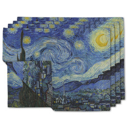 The Starry Night (Van Gogh 1889) Linen Placemat