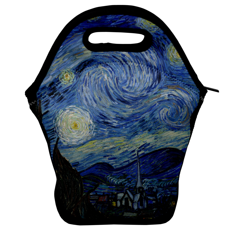Front YouCustomizeIt Diaper Bag Van Gogh 1889 The Starry Night